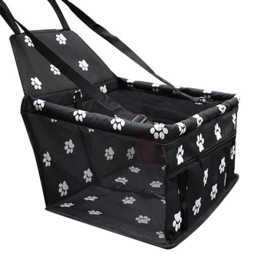Pet Car Booster Seat with Nylon Strap