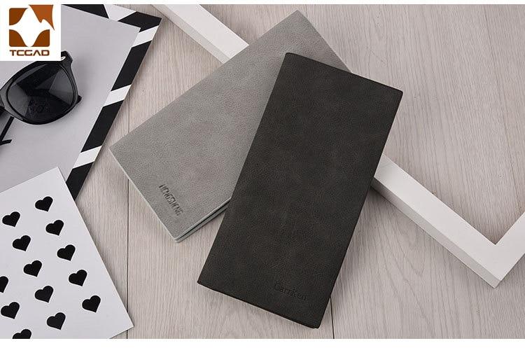 men's wallet Thin slim wallet leather long Male Clutch mens wallets coin hand purse pocket cartera hombre billetera hombre 2020