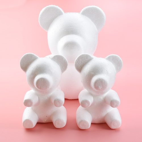 Arts and Crafts Styrofoam Teddy Bear