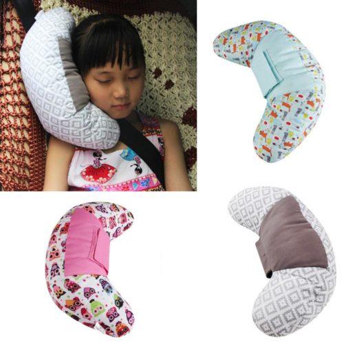 Seat Belt Kids Car Pillow