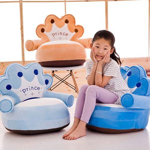 Plush Kids Sofa Chair
