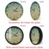 Bohemian Mandala Clock Wall Decor