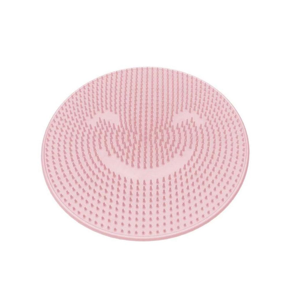 31cm Round Silicone Bath Massage Cushion Brush For Lazy Wash Feet Clean Dead Skin Bathroom Artifact Back Cushion Shower Foot
