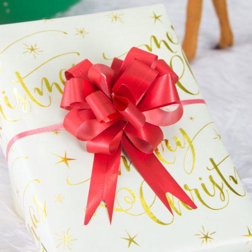 Ribbon Gift Bows Pull Gift Decors (10 Pcs)