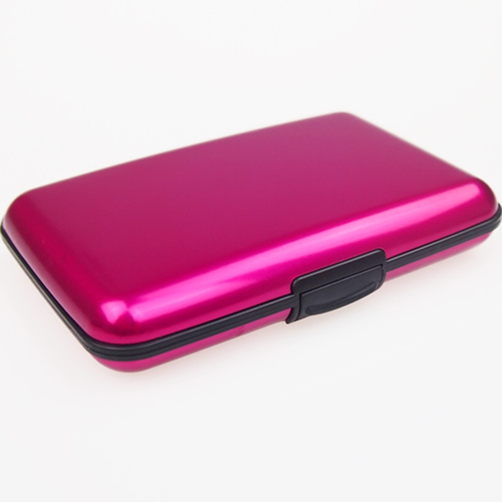 Aluminum Card Holder with 6 Card Slots