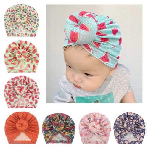 Baby Turban Hat Infant Accessory
