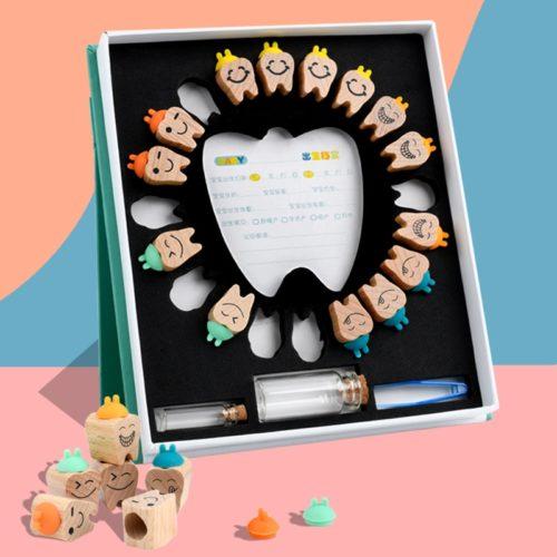 Baby Teeth Holders Keepsake Storage