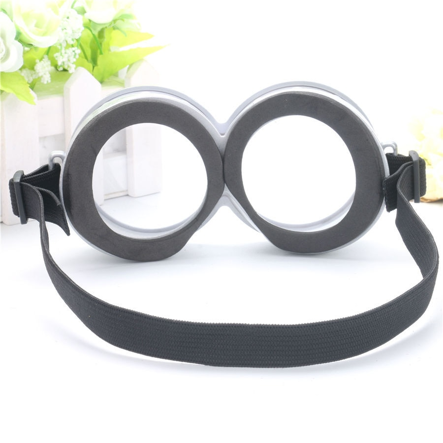 Funny Decorative Minions Cosplay Costume Glasses Party Props 3D Circular Glass Birthday Party Supplies Decoration