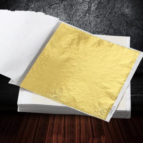 Gold Foils Sheets Pack (100 Pcs)