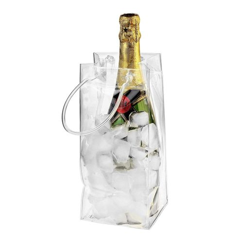 PVC Wine Ice Bag Portable Ice Bucket