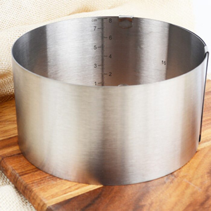 Stainless Steel Adjustable Baking Mold