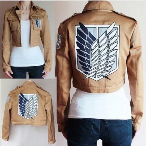 Attack on Titan Jacket Cosplay Coat