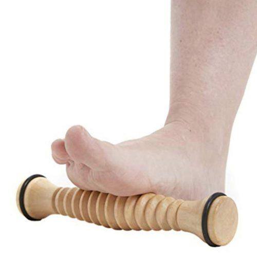 Massage Tool Wooden Roller Foot Massager