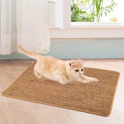 Natural Sisal Cat Scratch Mat