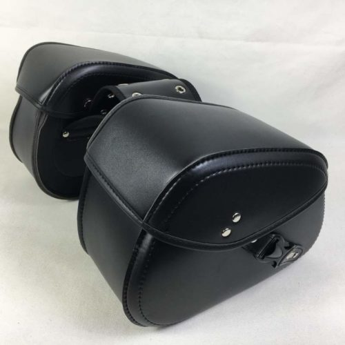 Leather Motorcycle Saddlebags (2 Pcs)