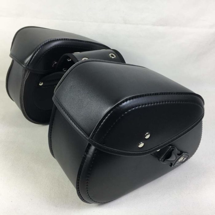 Leather Motorcycle Saddlebags (2 Pcs)