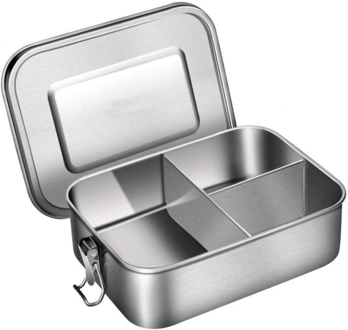 Steel Lunch Box with Divider