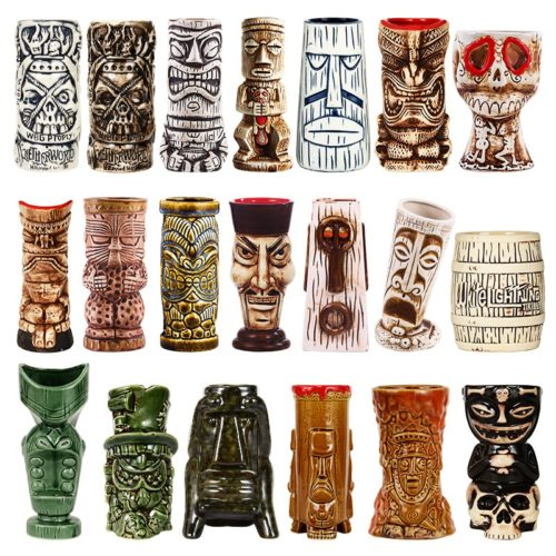 Hawaiian Creative Ceramic Tiki Mug