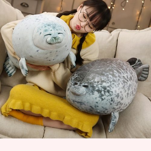 Soft Pillow Chubby Seal Plush