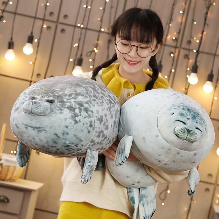 Soft Pillow Chubby Seal Plush