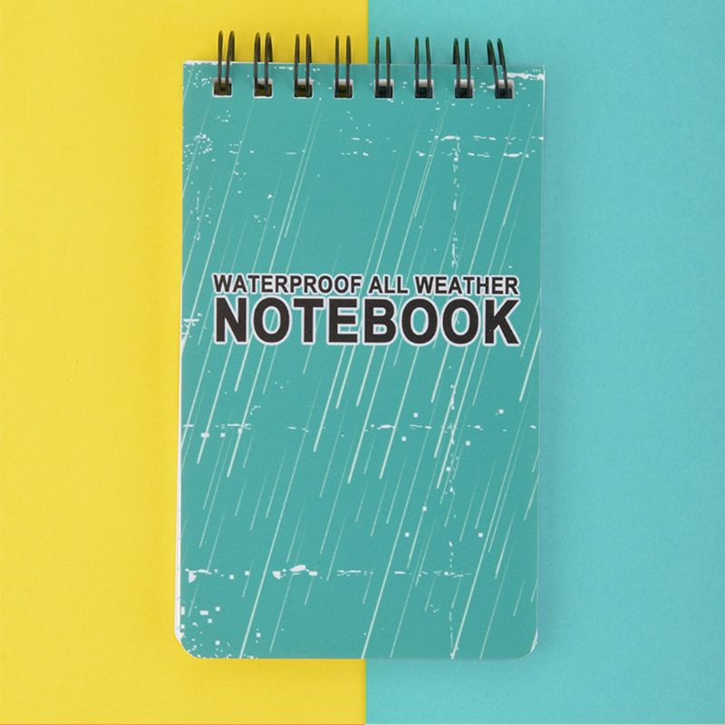 Waterproof Notepad Language Learning Coil Book Vocabulary Diary Notebook Weatherproof Field Pocket Memo Travel