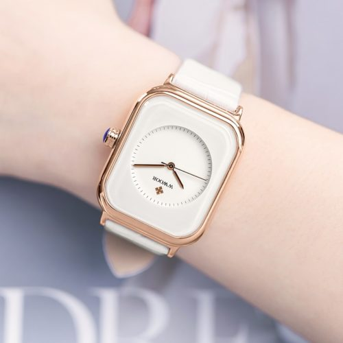 Ladies Leather Watch Trendy Timepiece