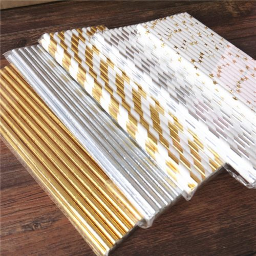 Paper Straws Party Supply (25 Pcs)