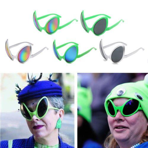 Alien Sunglasses Costume Accessory