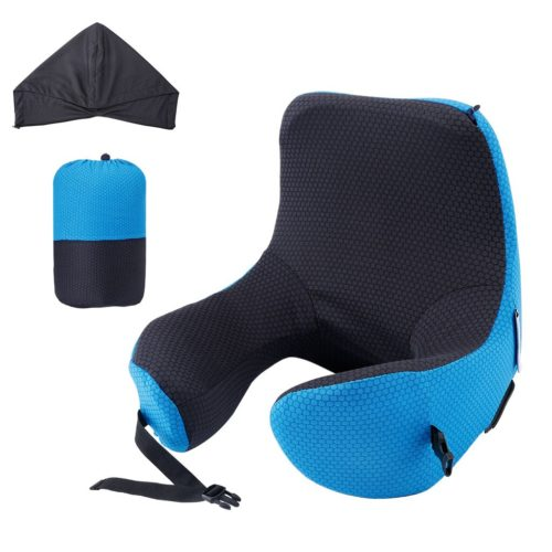 6 in 1 Hooded Neck Pillow