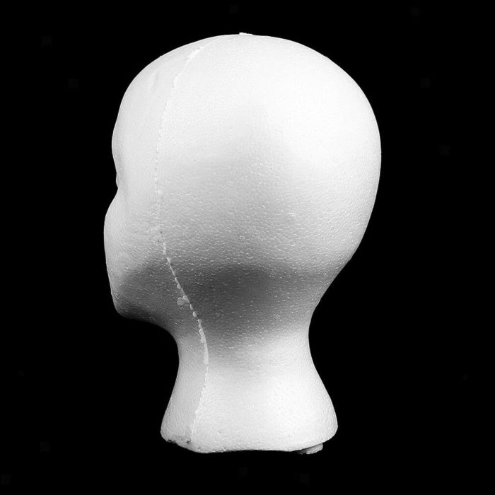 Female Head Mannequin Wig Display Stand