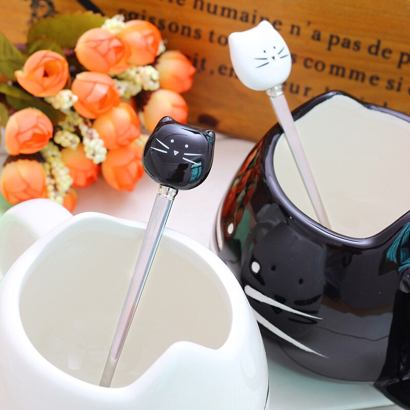 Ceramic Cute Cat Mugs Lovers Coffee Mug Tea Milk Cups Nice Gifts