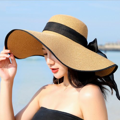 Foldable Beach Hat for Ladies