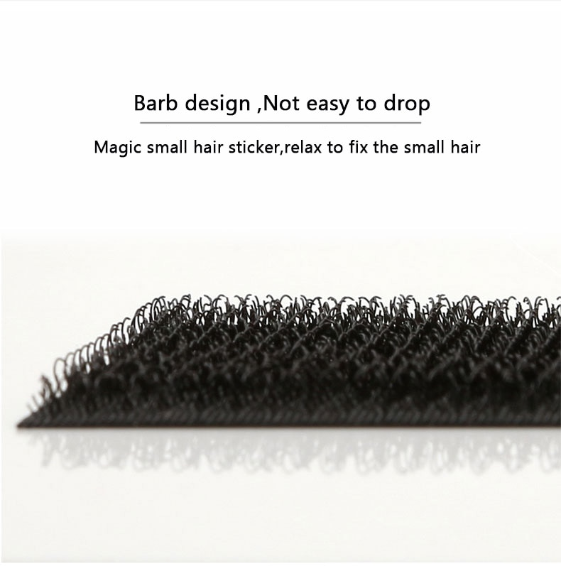 20pcs Barber Acessories Bangs Paste Posts Hair Sticker Gripper Barber Grippers Hair Holder for Hair Styling Cutting