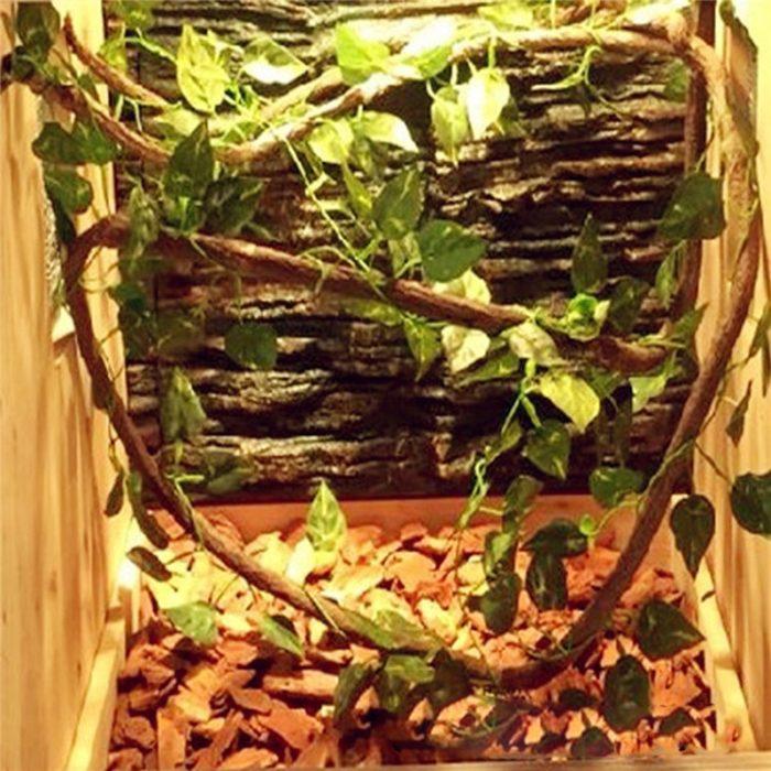 Flexible Reptile Vine Tank Decor