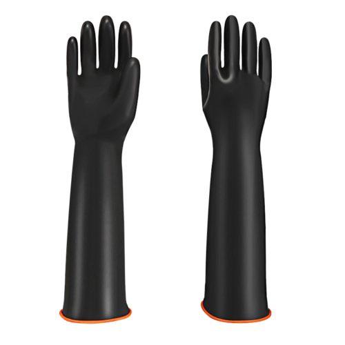 Double Layer Long Dishwashing Gloves
