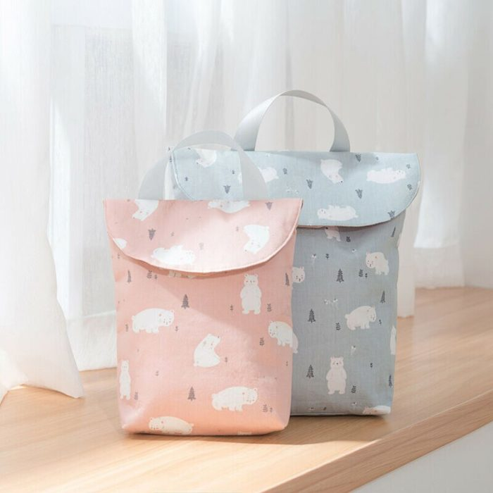 Reusable and Waterproof Nappy Pouch