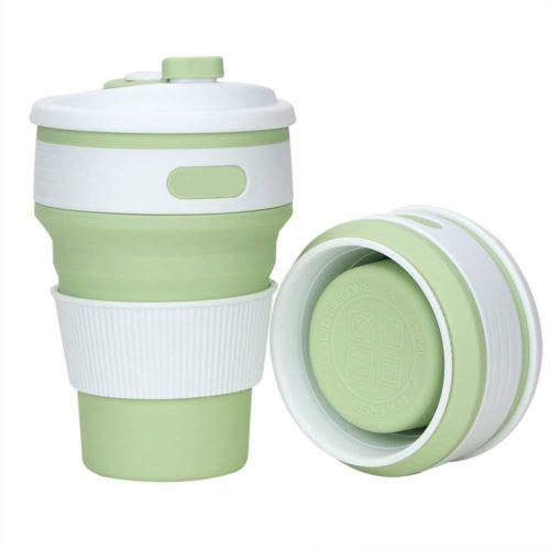 Foldable Coffee Cup Silicone Travel Mug