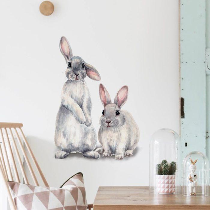 Rabbit Wall Sticker Home Decor