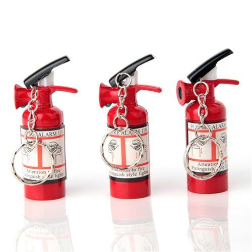 Fire Extinguisher Lighter Keychain