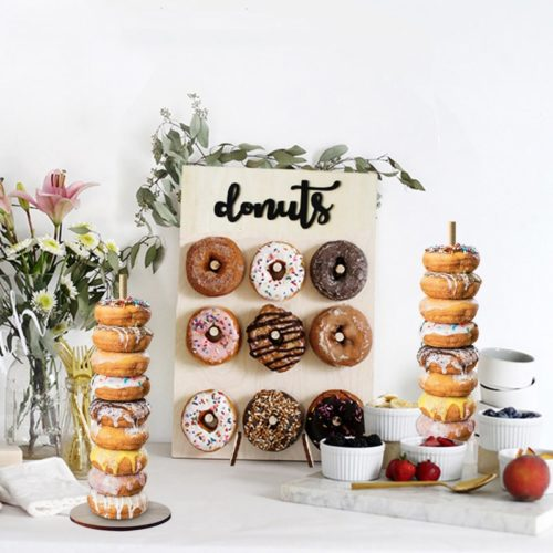 Acrylic Donut Stand Party Decor