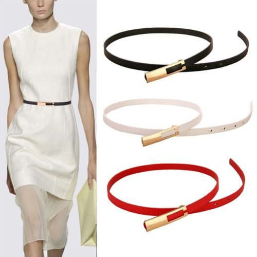 Thin Dress Belt for Women