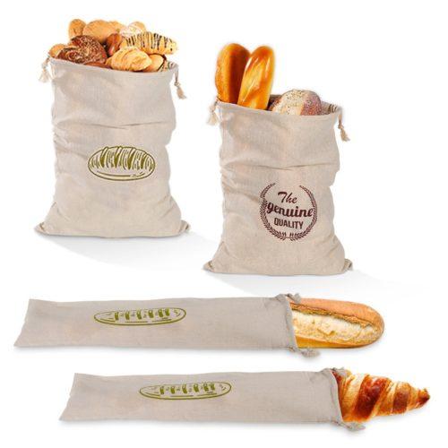Reusable Drawstring Cloth Bread Bag