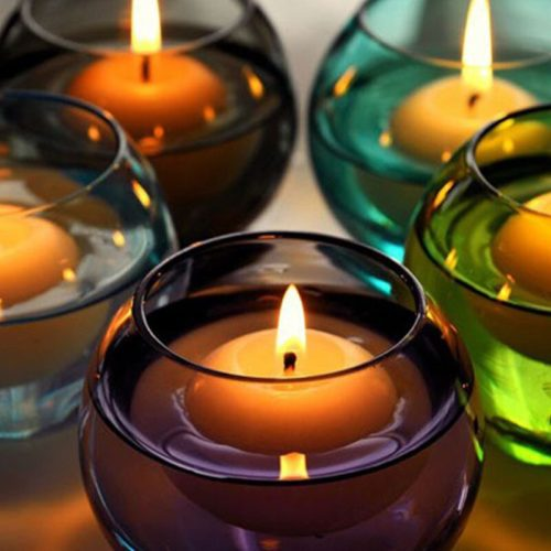 Wax Floating Water Candles (10pcs)