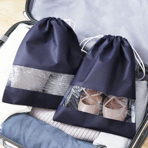 Waterproof Drawstring Shoe Bag