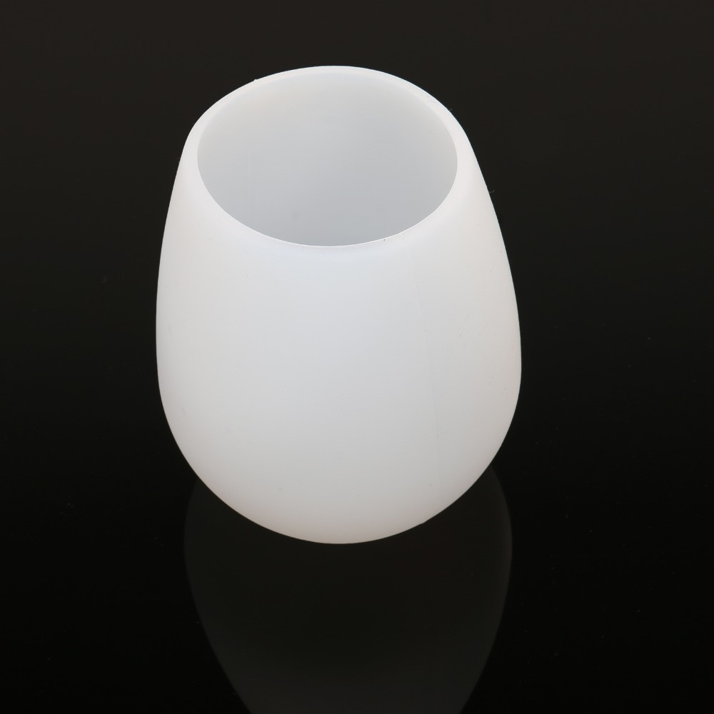 Silicone Cup Non-slip drop Portable Silicone Cup for Wine Juice Cola and Beer BBQ Cup Travel Glass Wine Glass Cup