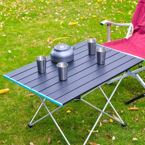 Foldable Roll Up Camping Table