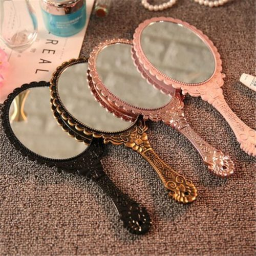 Vintage Vanity Handheld Mirror