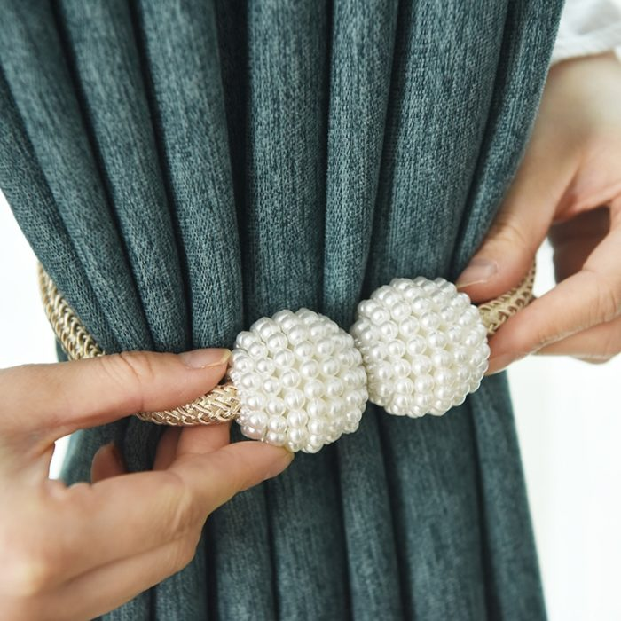 Magnetic Curtain Holdback Tie