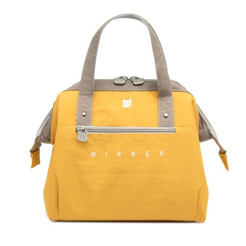 Insulated Lunch Tote Bag with Zipper Pocket