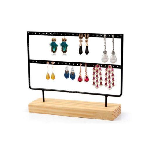 Two-Layer Earring Display Rack